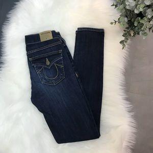 ▪️True Religion ▪️Casey low rise skinny jeans. 24